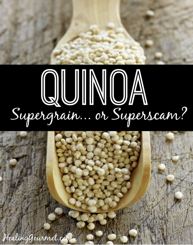 Is quinoa a healthy grain alternative or a harmful ingredient?