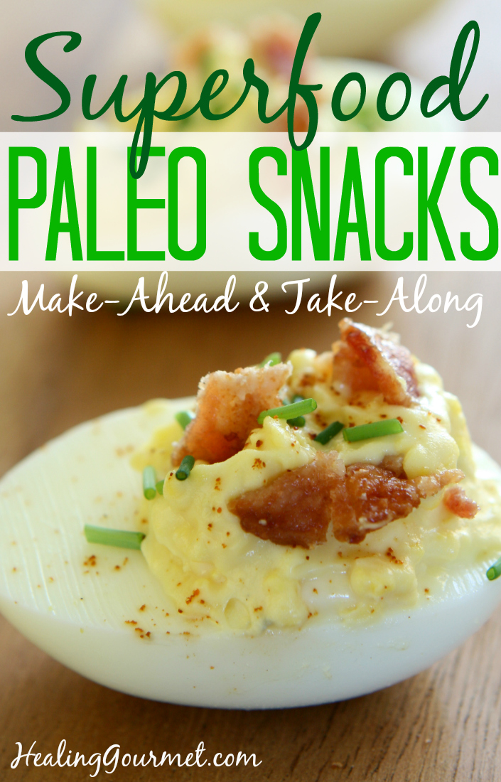 Superfood Paleo Snacks - Healing Gourmet