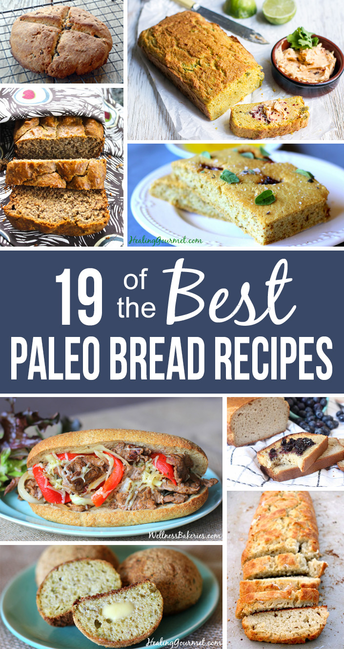 Looking for the perfect Paleo bread recipe? Check out these 19 grain-free breads sure to satisfy your cravings for sandwiches, rolls, baguettes and more!