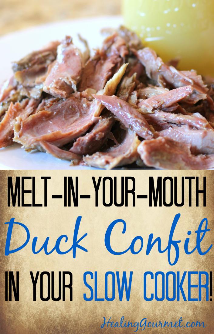 Slow Cooker Duck Confit