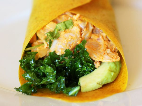Image from a post with the title: Paleo Wraps.