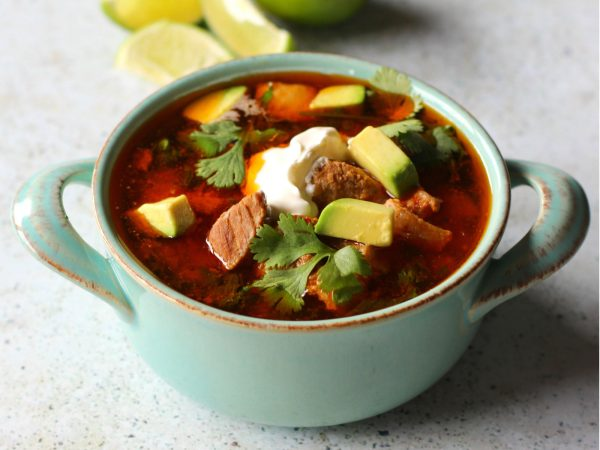 Image from a post with the title: Instant Pot Mexican Pork Stew (Low Carb, Keto-Friendly).