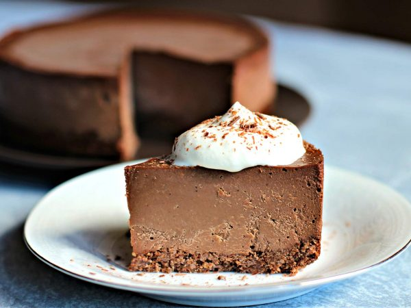 Image from a post with the title: Truffle Keto Cheesecake (Dairy-Free, Egg-Free,....